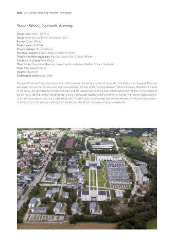 Architekten Ingolstadt nordseepassage wilhelmshaven germany gmp architekten