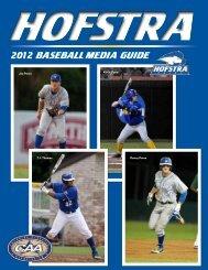2012 baseball MeDIa GUIDe - GoHofstra.com