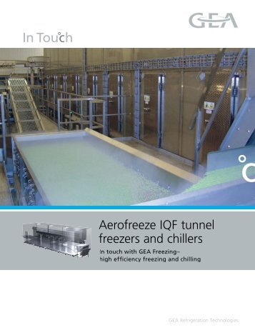 Aerofreeze IQF tunnel freezers and chillers - GEA Refrigeration ...