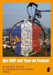 Der BDP auf Tour de France - Bund Deutscher PfadfinderInnen