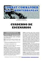 CUADERNO DE ESCENARIOS - GMT Games
