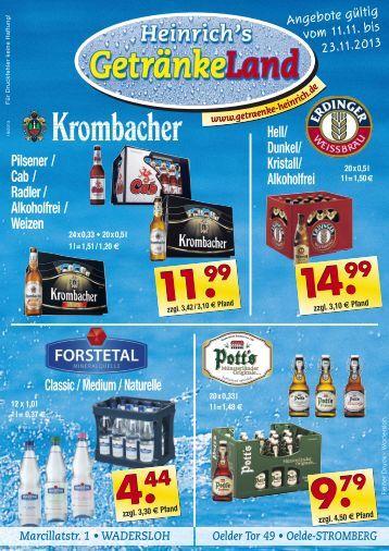 Getränke Heinrich (11.-23.11.13)