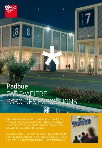 Padoue PADOVAFIERE PARC DES EXPOSITIONS - GL events