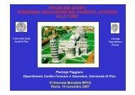 screening, educazione del paziente, accesso alle cure - GOLD