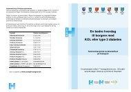 En bedre hverdag til borgere med KOL eller type ... - Glostrup Hospital
