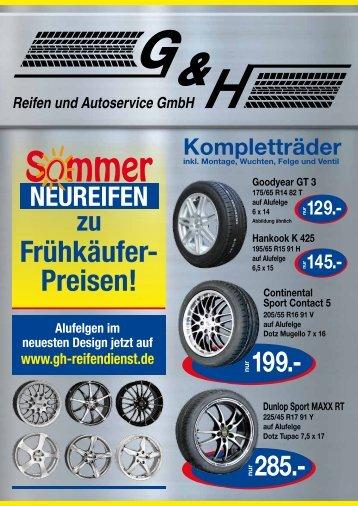 S mmer - G & H Reifendienst GmbH
