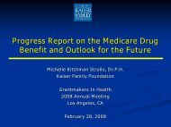 Standard Medicare Prescription Drug Benefit, 2007 - Grantmakers In ...