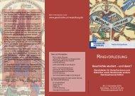 RINGVORLESUNG - Institut für Geschichte - Universität Würzburg
