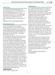 Vereinsnachrichten 181209.pub - Gemeinde Bisingen