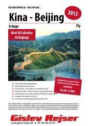 Kina - Beijing - Gislev Rejser