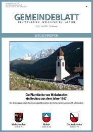Gemeindeblatt Nr. 04 / 2011 (3,17 MB)