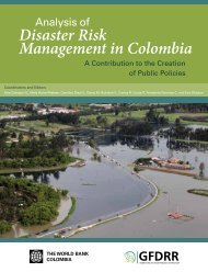 Analysis of Disaster Risk Management in Colombia: A ... - GFDRR