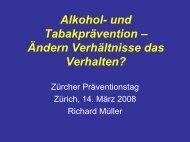 Alkohol- und Tabakprävention