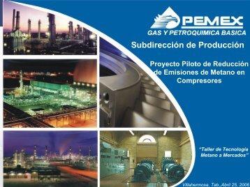 Proyecto Piloto de Reducción de Emisiones de Metano en ...