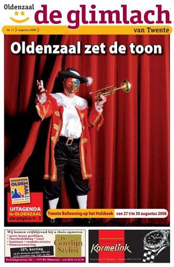 Oldenzaal, De Glimlach - Glimlach van Twente