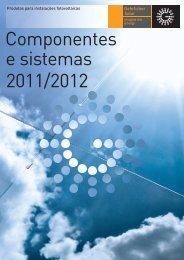 Componentes e sistemas 2011/2012 - Gehrlicher Solar