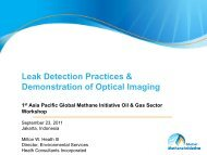 Leak Detection Practices & Demonstration of Optical Imaging