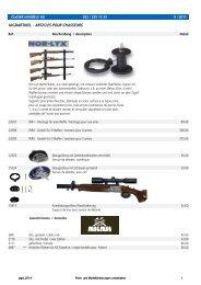 accessoires de chasse - Glaser Handels AG