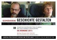 Info-Karte von GESCHICHTE GESTALTEN - Friedrich-Schiller ...
