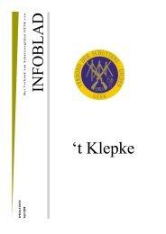 t Klepke nr. 29 april 2009 - Verbond der Schuttersgilden Genk