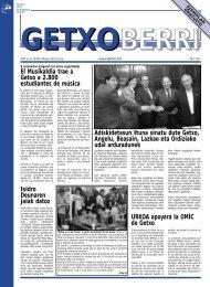 Número 821 9/18 de mayo de 2003 - Getxo