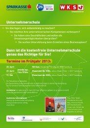 Einladung und Programm - GO! Gründercenter