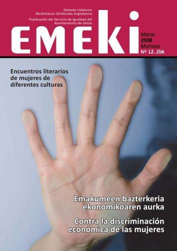 Número 12. Marzo 2008 - Getxo