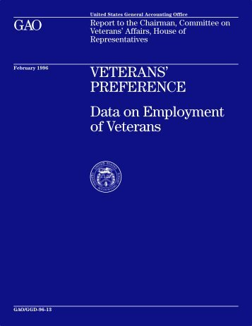 VETERANS' PREFERENCE - PURL Information Page