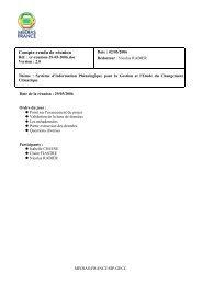 Compte rendu de runion - GDR SIP-GECC - CNRS