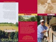 Download our Volunteer Brochure. - Glynwood