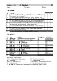 R-Lernplan - Gegenschatz.net