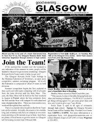 Join the Team! - Glasgow Montana