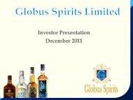 IMFL - Globus Spirits