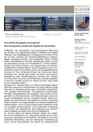 12.04.2013: HTZ eröffnet Zweigstelle am Kemperhof - Familienstark