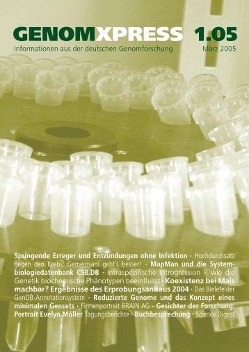 Download GENOMXPRESS 1/2005