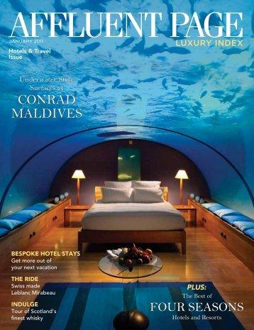 Conrad MaldiveS Conrad MaldiveS - Gloffke Design