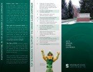 Campaign brochure - Giving to MSU - Michigan State University
