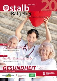 Aktuelles / Fitness 03/2013 - Gesundheitsnetz Ostalbkreis
