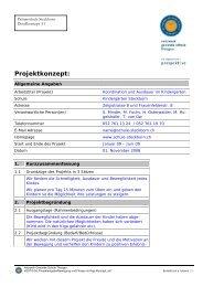 Koordination und Ausdauer im Kindergarten (.pdf) - Gesunde Schulen
