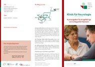 s. Flyer - GLG Gesellschaft für Leben und Gesundheit mbH