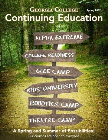 Continuing Education - Georgia College & State University