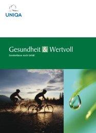 Gesundheit & Wertvoll - Uniqa Versicherungen AG