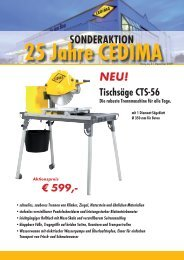 SONDERAKTION - CEDIMA GmbH