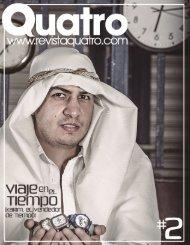 Revista Quatro: #2 Viajes en el Tiempo