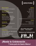 Revista Quatro: #2 Viajes en el Tiempo - Page 4