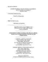 Citizens Business Bank v. DeMille Respondent's Brief in Horace ...