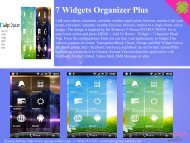 7 Widgets Organizer Plus - Get Mobile game