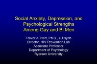 Anxiety Depression Strengths - GMSH