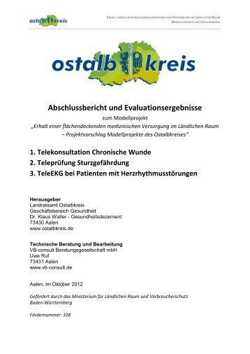 Abschlussbericht und Evaluationsergebnisse zum Modellprojekt
