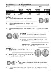 S-Arbeitsblätter 1-4 - Gegenschatz.net